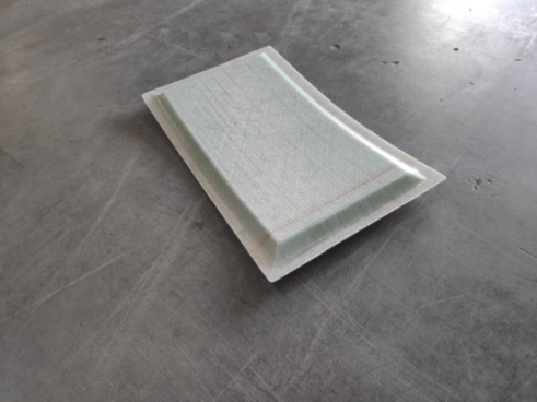 curve sandwich panel - click for more information