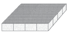 Scrimmed structural foam core