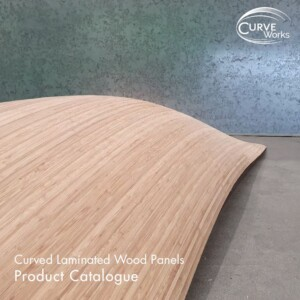 Curved laminated wood product catalogue