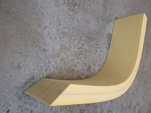 60mm thick thermoformed corecell