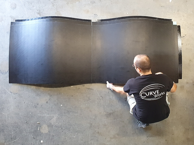 composite panel assemblies - 2 panels